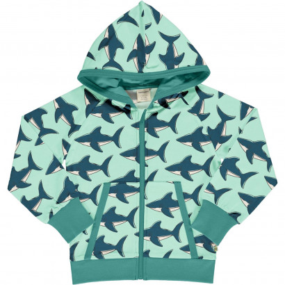 Cardigan Hood Sweat, Shark