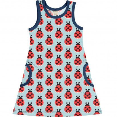 Kleid, Dress Lazy Ladybug