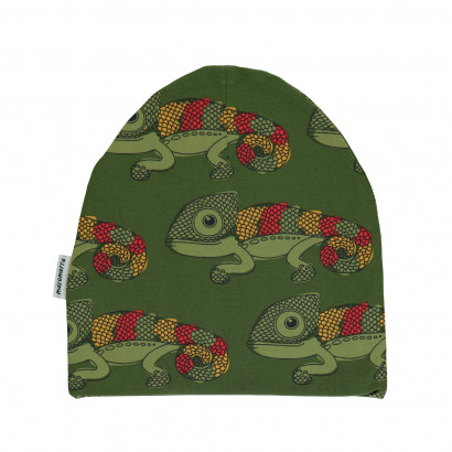 Maxomorra Hat Velour Chameleon