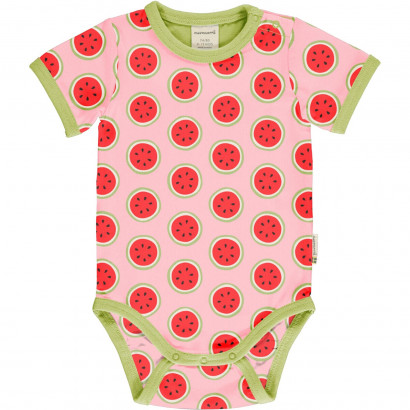 Kurzarmbody, Short Sleeve, Watermelon