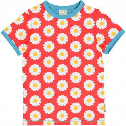 T-Shirt, Top Short Sleeve, Daisy