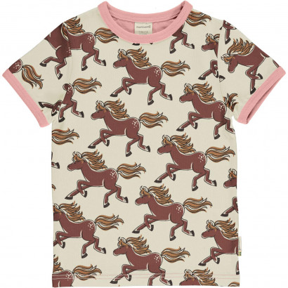 T-Shirt, Top Short Sleeve, Horse