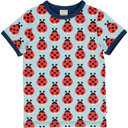 T-Shirt, Top Short Sleeve, Lazy Ladybug