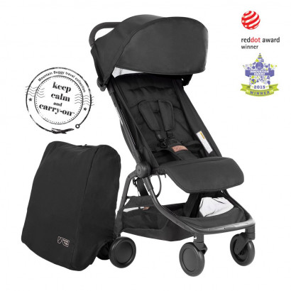 Mountain Buggy Nano (2020+), schwarz
