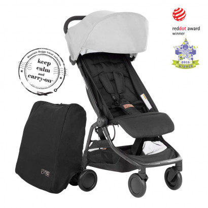Mountain Buggy Nano (2020+), grey