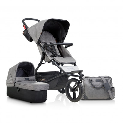 Mountain Buggy Urban Jungle Luxury Collection Herringbone Bundle - Aktion mit Trage Juno charcoal
