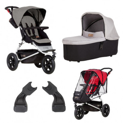 Mountain Buggy Urban Jungle silver Bundle1
