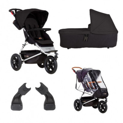 Mountain Buggy Urban Jungle schwarz Bundle1