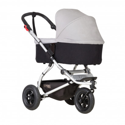 Mountain Buggy Swift mit Carrycot plus, silver
