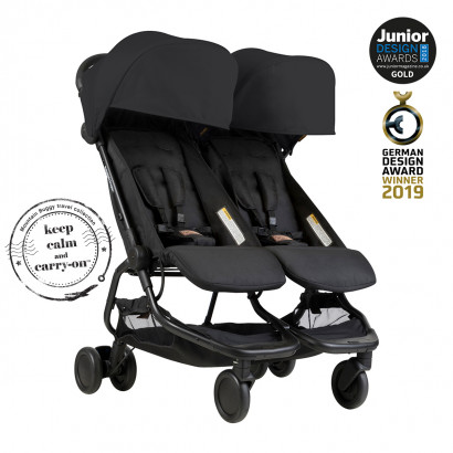 Mountain Buggy Nano Duo, black