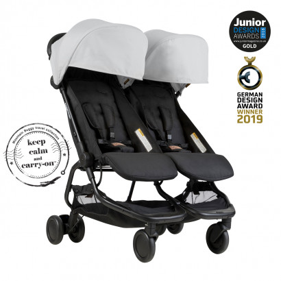 Mountain Buggy Nano Duo, silver