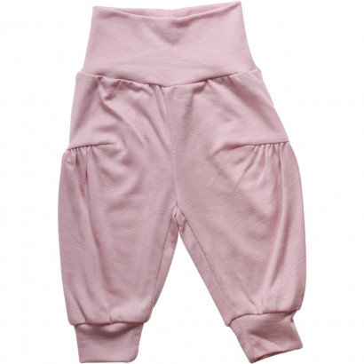 Müsli Woolly Silk Pants Girl Rose