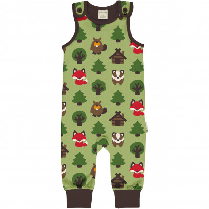 Playsuit, Green Forest