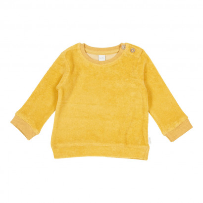 Sweatshirt Soft sunrise, corn yellow