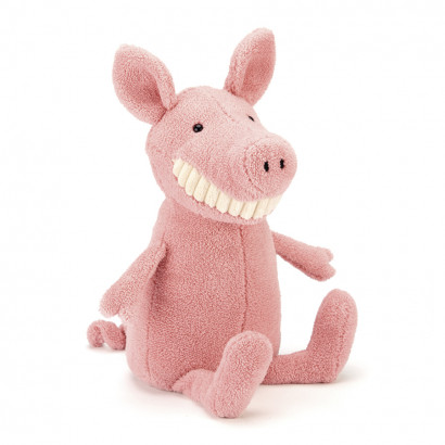 Jellycat Toothy Pig rosa