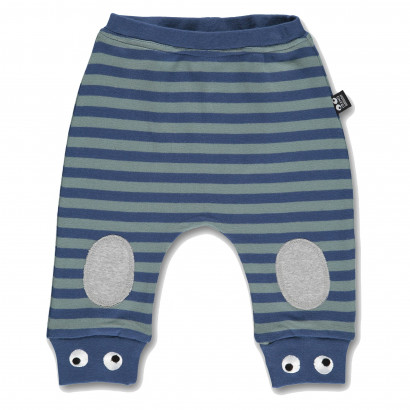 Baby Pants wood blue stripe