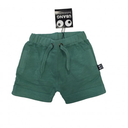 Ubang Kids Shorts Deep Mos Green