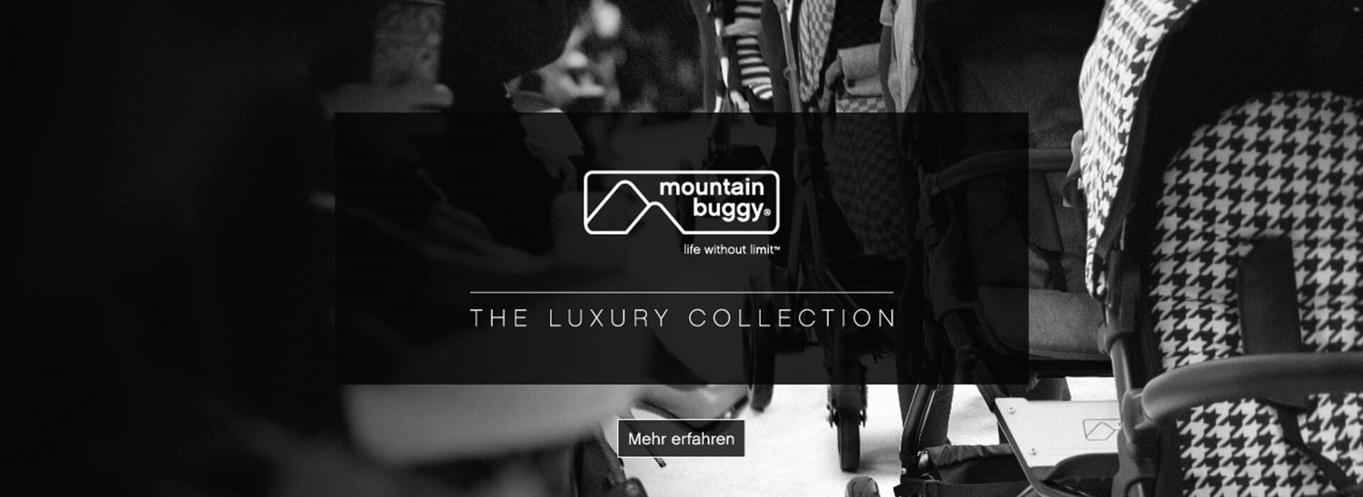 Entdecke die Mountain Buggy Luxury Collection